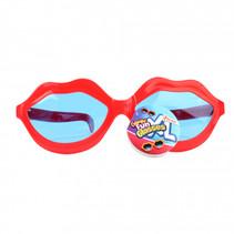 bril Big Kiss junior 20 cm rood