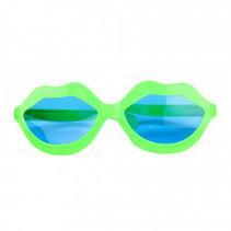 bril Big Kiss junior 20 cm groen