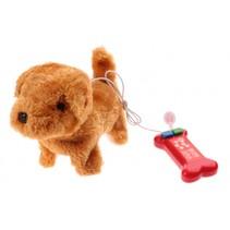 Puppy Pet hond met afstandsbediening bruin