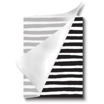 schrift met kaft Zepp lijn A5 14,8 x 21 cm zwart/wit