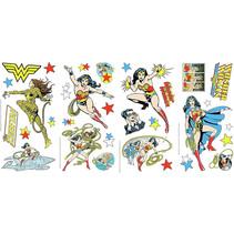muursticker Wonder Woman 91 x 176 cm vinyl 36-delig
