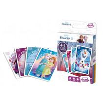 kaartspel 4-in-1 Disney Frozen II karton 32-delig (FR)