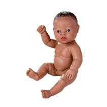 babypop zonder kleren Newborn Afrikaans 30 cm meisje