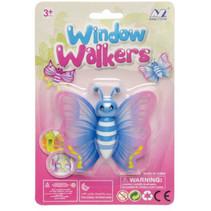 raamklimmer vlinder meisjes 19 cm blauw
