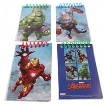 notitieboekjes 10 cm Avengers 4 stuks