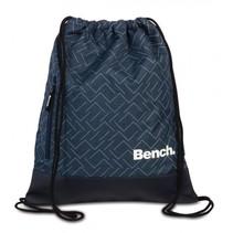 gymtas met trekkoorden 11 liter donkerblauw