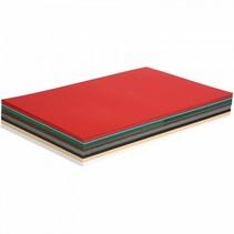 kerst karton 42 x 29,7 cm 300 stuks 180 g multicolor