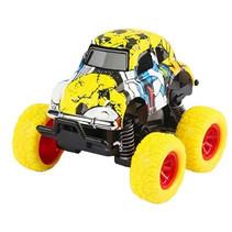 monstertruck jongens 9 cm staal geel