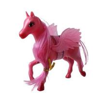 eenhoorn meisjes 13 x 14 cm roze