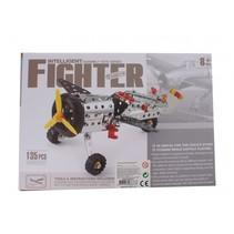 bouwpakket intelligent fighter 135-stuks zilver
