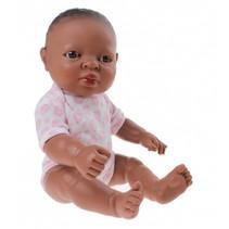 babypop Newborn Afrikaans 30 cm meisje