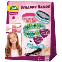 maak je eigen armbanden meisjes polyester/rubber 60-delig