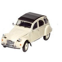 Citroën 2CV 6 Charleston staal 1:24 beige