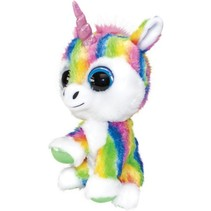knuffel Lumo Unicorn Dream multicolor 15 cm