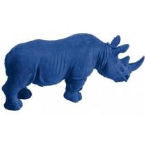 gum Animal neushoorn 10 x 7 cm junior blauw