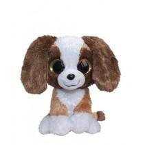 knuffel hond Wuff 42 cm bruin
