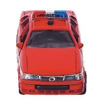 hulpdienst auto: brandweer 13 cm rood