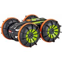 stuntauto RC Mini All-Terrain 2,4GHz zwart/oranje/groen