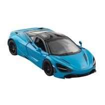 auto McLaren 720S 12,5 cm blauw