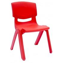kinderstoel junior rood 42 cm