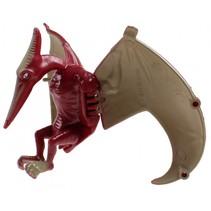 dinosaurus inklapbaar in ei 10 cm bordeaux