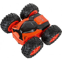 Carrera RC 2,4GHz Track2Wheel stuntauto zwart/oranje