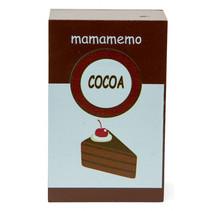 pak chocolade 10 cm hout bruin/wit