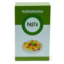 pak pasta 10 cm hout groen/wit