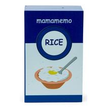 pak rijstpudding 10 cm hout blauw/wit