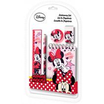 schoolspullen Minnie Mouse meisjes roze 5-delig