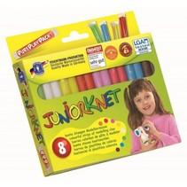 Juniorknet Klei Basic 8 Kleuren 300 gram