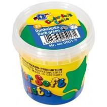 Kinder Soft Knete Basic Klei 150 gram Donker Groen