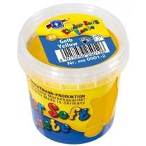 Kinder Soft Knete Basic Klei 150 gram Geel
