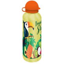 drinkfles Tropical Style junior 500 ml aluminium geel