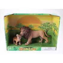 Wildlife leeuw 18X13X7 cm