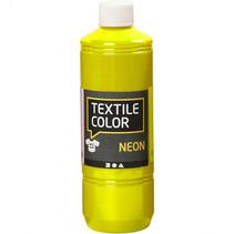 textielverf 500 ml neon geel