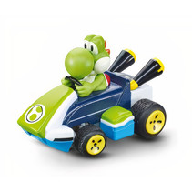 Mario Kart mini RC Yoshi 2,4GHz 7 x 4,5 cm 11-delig