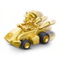Mario Kart mini RC 2,4GHz 7 x 4,5 cm goud 11-delig