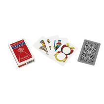 speelkaarten Napoletane 82 mm karton rood 40-delig