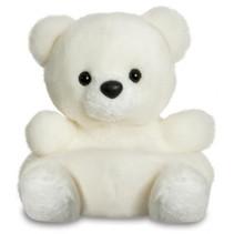 knuffelbeer ijsbeer Palm junior 13 cm pluche wit