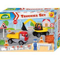 speelset Truckies Bouw junior 23-delig