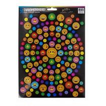 stickervel gekleurde smileys 29 x 21 cm papier