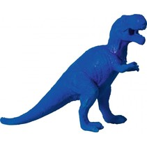 gum Dino XXL 13 x 9 cm junior blauw