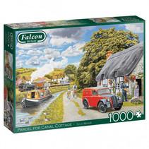 legpuzzel 'Parcel for Canal Cottage' 1000 stukjes