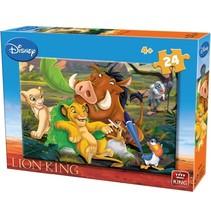 legpuzzel Disney The Lion King junior karton 24 stukjes