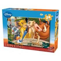 legpuzzel The Lion King junior karton 24 stukjes