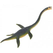 dinosaurus Elasmosaurus junior 25 cm rubber groen/geel