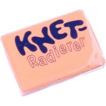 kneedgum 4,5 x 3 x 0,8 cm oranje