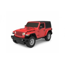 RC Jeep Wrangler JL jongens 27 MHz 1:24 rood