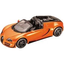 RC Bugatti Veyron Grand Sport Vitesse schaal 1:18 oranje